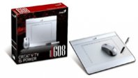 TABLA GENIUS MOUSE PEN I608 6X8, C/MOUSE Y PLUMA INALAMBRICA - TiendaClic.mx
