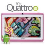 "TABLET GHIA ANY  QUATTRO / 7 "" / BT / QUAD CORE / 1GB / 8GB / ANDROID 5.1 / ROSA - TiendaClic.mx"
