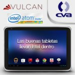 TABLET VULCAN GLACIER10.1 INTEL ATOMZ2460 1.6 GHZ 1GB/16GB/ CAM/WIFI/ANDROID 4.0 ICE CREAM / NEGRA - TiendaClic.mx