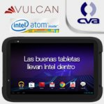 TABLET VULCAN VOYAGER 7 INTEL ATOM Z2460 1.6 GHZ/1GB/16GB/CAM/WIFI/ANDROID 4.0.4, ICE CREAM /NEGRA - TiendaClic.mx