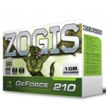 T.DE VIDEO ZOGIS GEFORCE 210 FERMI 1GB/64BIT DDR3 PCIE DVI/VGA/HDMI W7 - TiendaClic.mx