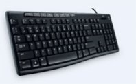 TECLADO MULTIMEDIA LOGITECH MEDIA K200 USB - TiendaClic.mx