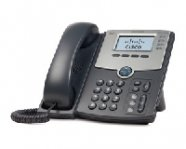 TELEFONO IP CISCO 4 LINEAS, C/DISPLAY, POE Y PUERTO P/PC - TiendaClic.mx