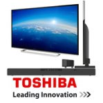 TELEVISOR LED SLIM SMART TV 40 TOSHIBA FULLHD / 1080P / 120HZ /2 HDMI / 1 USB / PLATEADA + SOUND BAR - TiendaClic.mx