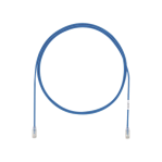 Cable de Parcheo UTP, Cat6A, Diámetro Reducido (28 AWG), CM/LSZH, Color Azul, 8in (20.3cm) - TiendaClic.mx