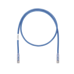 Cable de Parcheo UTP, Cat6A, 26 AWG, CM, Color Azul, 10ft - TiendaClic.mx