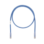 Cable de Parcheo UTP, Cat6A, 26 AWG, CM, Color Azul, 7ft - TiendaClic.mx