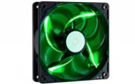 VENTILADOR COOLER MASTER CASE FAN 120MM LONG LIFE FAN GREEN - TiendaClic.mx